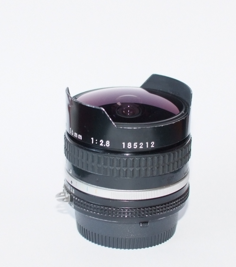 Nikon MF 16mm 2.8 Fisheye AIS