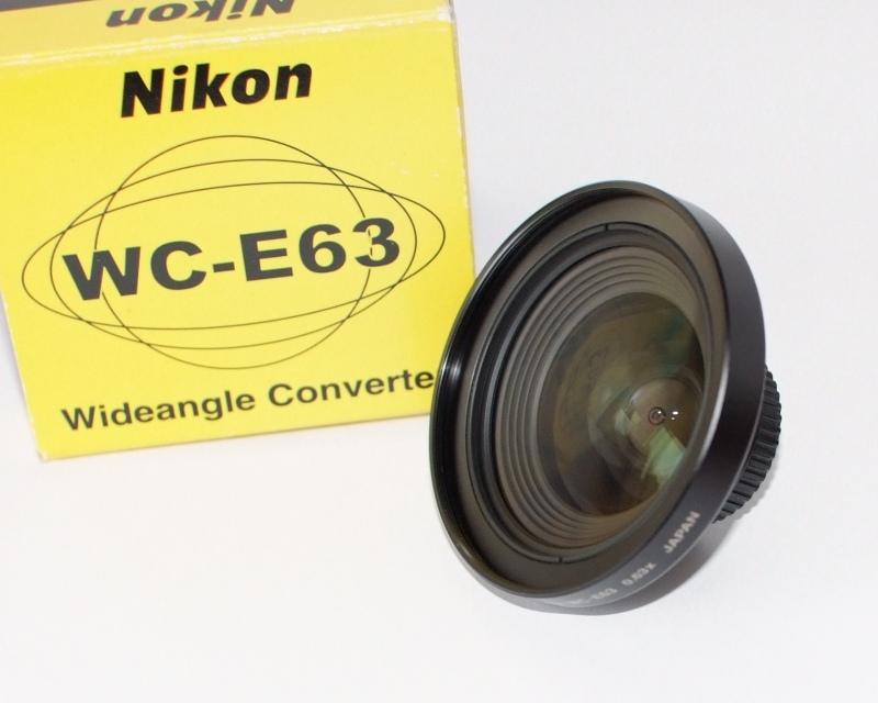 Nikon wc-e63 širokoúhlý konvertor 0.63x