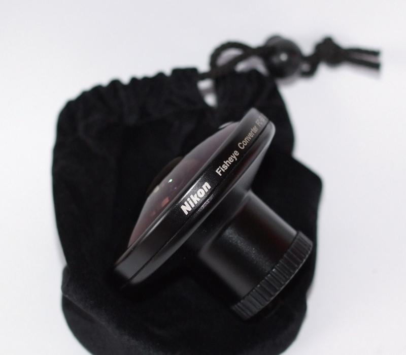 Nikon fisheye  FC-E8