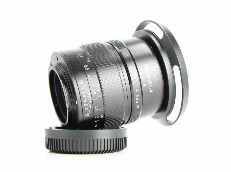 7Artisans 55mm f/1,4 pro Olympus/Panasonic m4/3