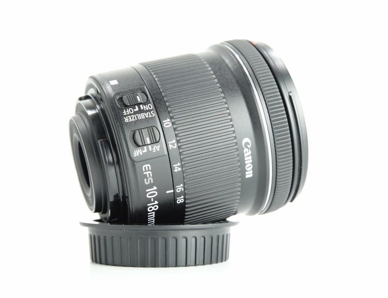 Canon EF-S 10-18mm 4.5-5.6 IS STM TOP