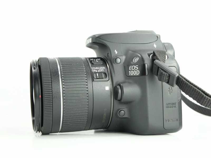 Canon 100D + Canon 18-55mm IS STM