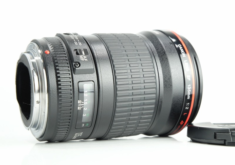 CANON EF 135 mm f/2 L USM TOP STAV