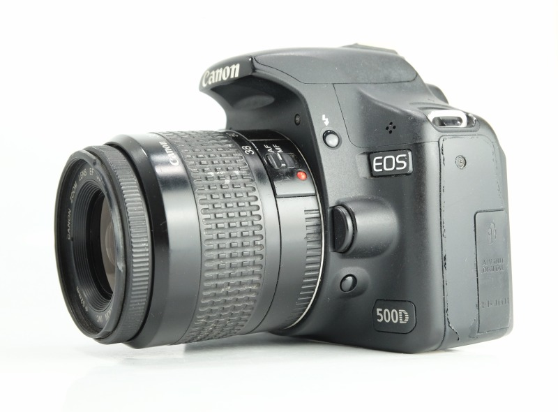 Canon EOS 500D + 37-76mm
