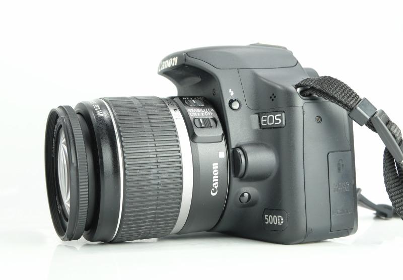 Canon EOS 500D + 18-55mm