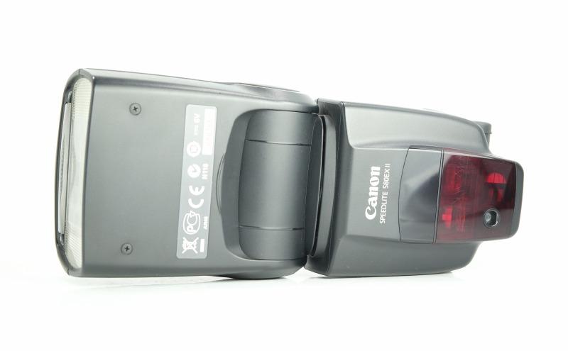 Canon SpeedLite 580EX II TOP