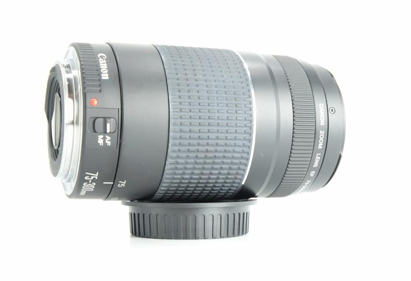 Canon 75-300mm EF f/4-5,6 III SUPER STAV