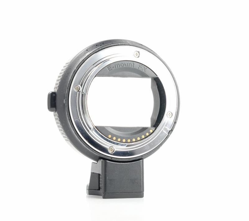 Commlite elektronický adaptér z Canon EF/EF-S na Sony E-mount