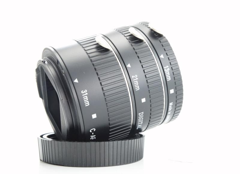 Danubia sada mezikroužků 13mm/21mm/31 mm pro Canon