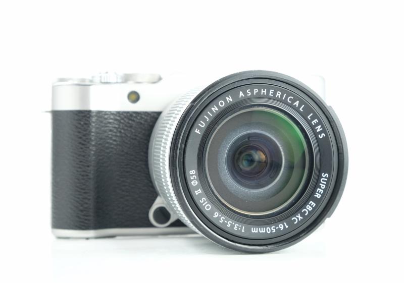 FUJIFILM X-A10 stříbrný + XC 16-50 mm