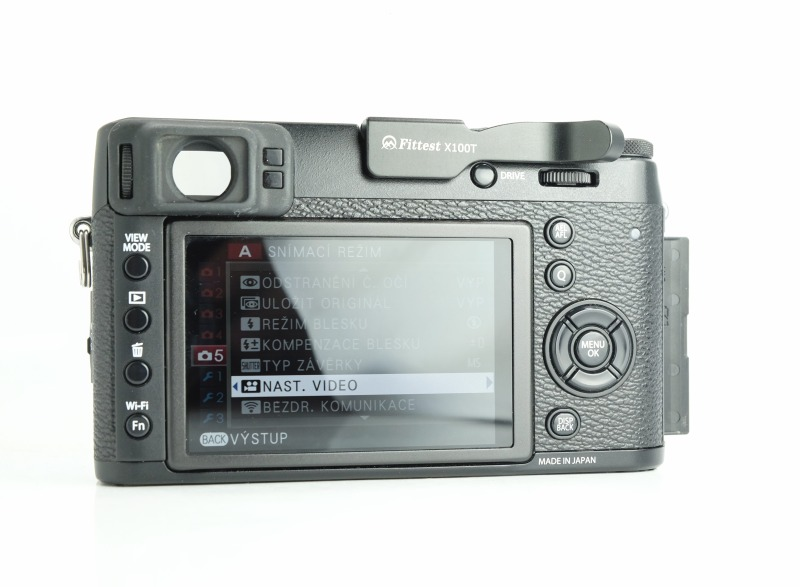 Fujifilm FinePix X100T TOP