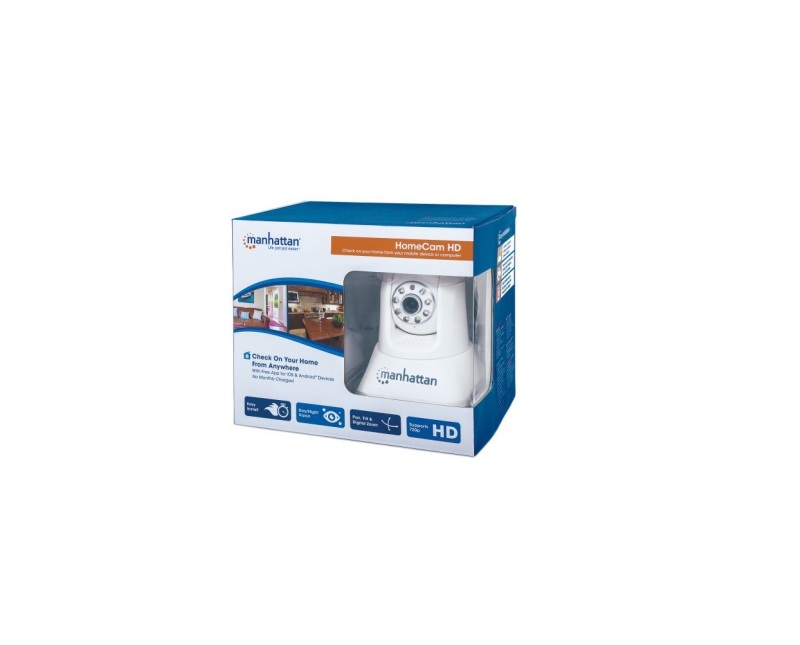 Manhattan Home Monitor Camera, Wireless, HD resolution