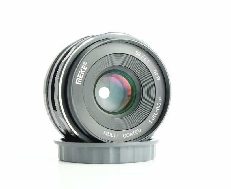 Meike MK 35 mm f/1,7 pro Sony E