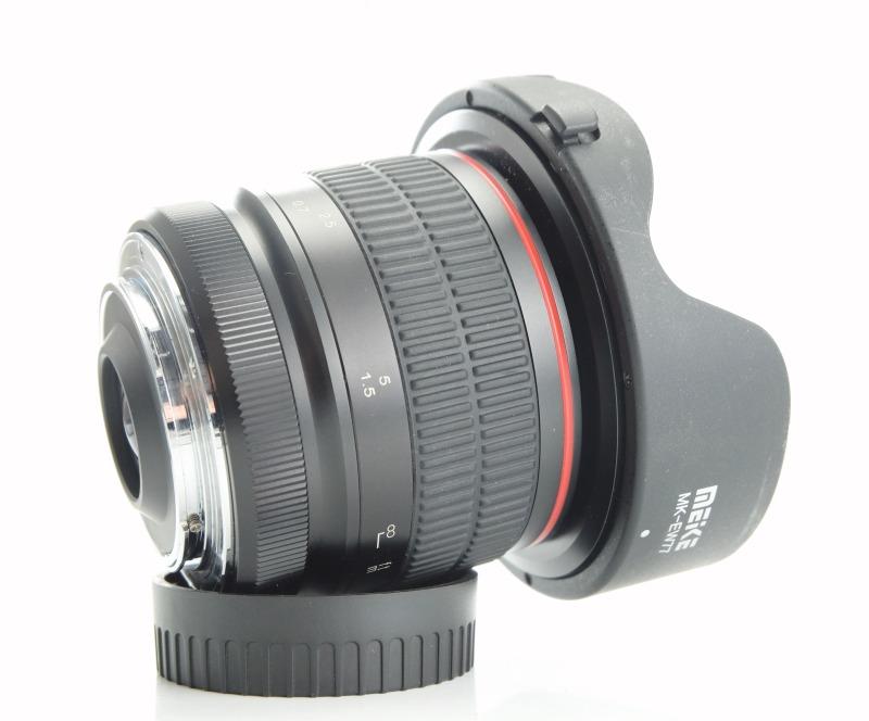 MEIKE 8 mm f/3,5 Fisheye CS pro Nikon