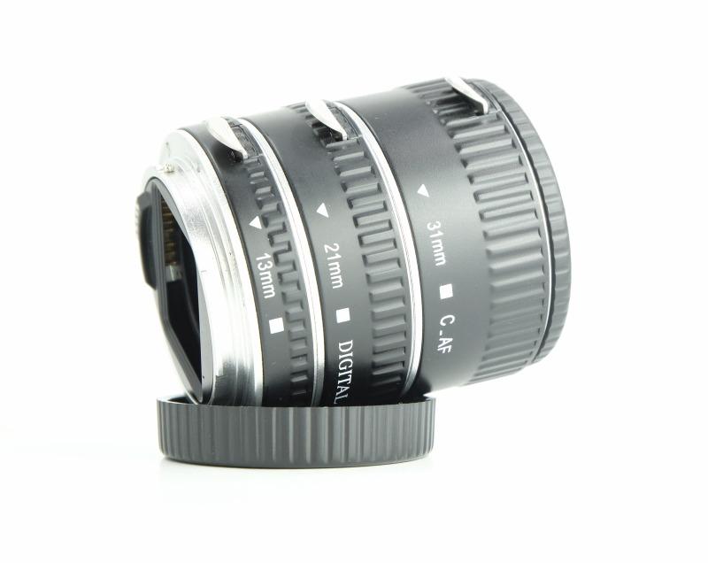 Meike 13/21/31mm mezikroužky pro Canon