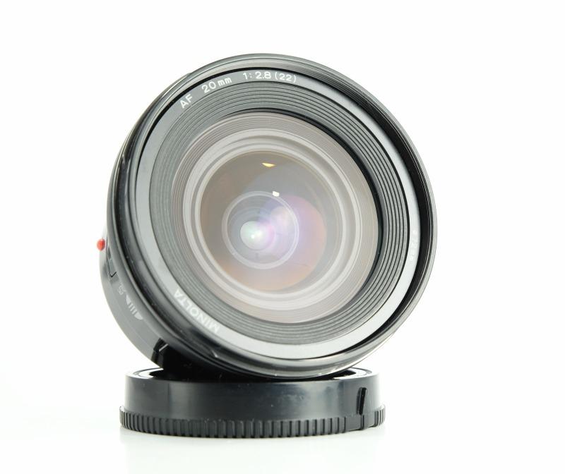 Minolta AF 20mm F2.8 pro SONY
