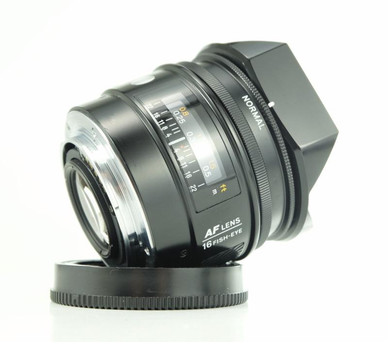 Minolta AF 16 mm f/2,8 Fish-Eye