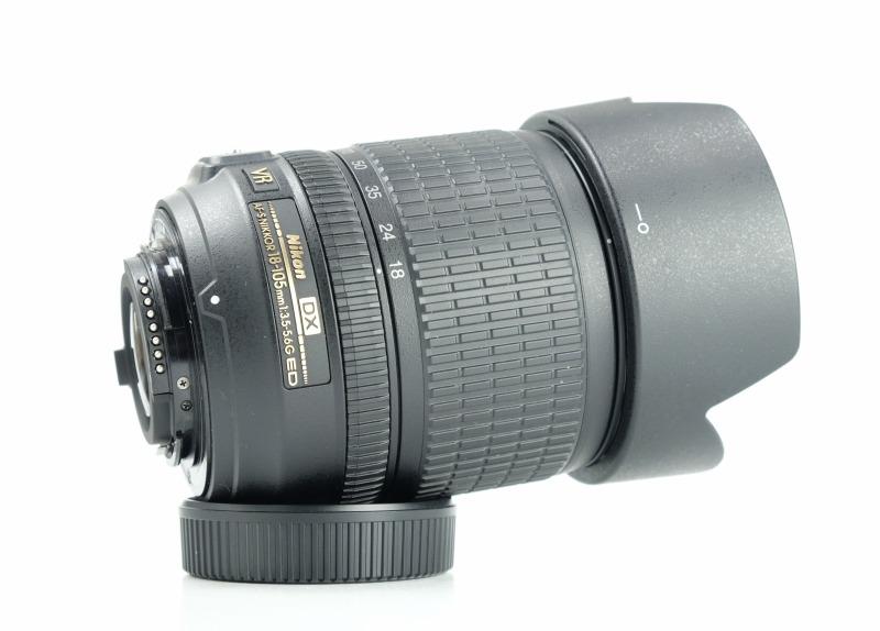 NIKON 18-105 mm f/3,5-5,6 G AF-S DX VR ED TOP