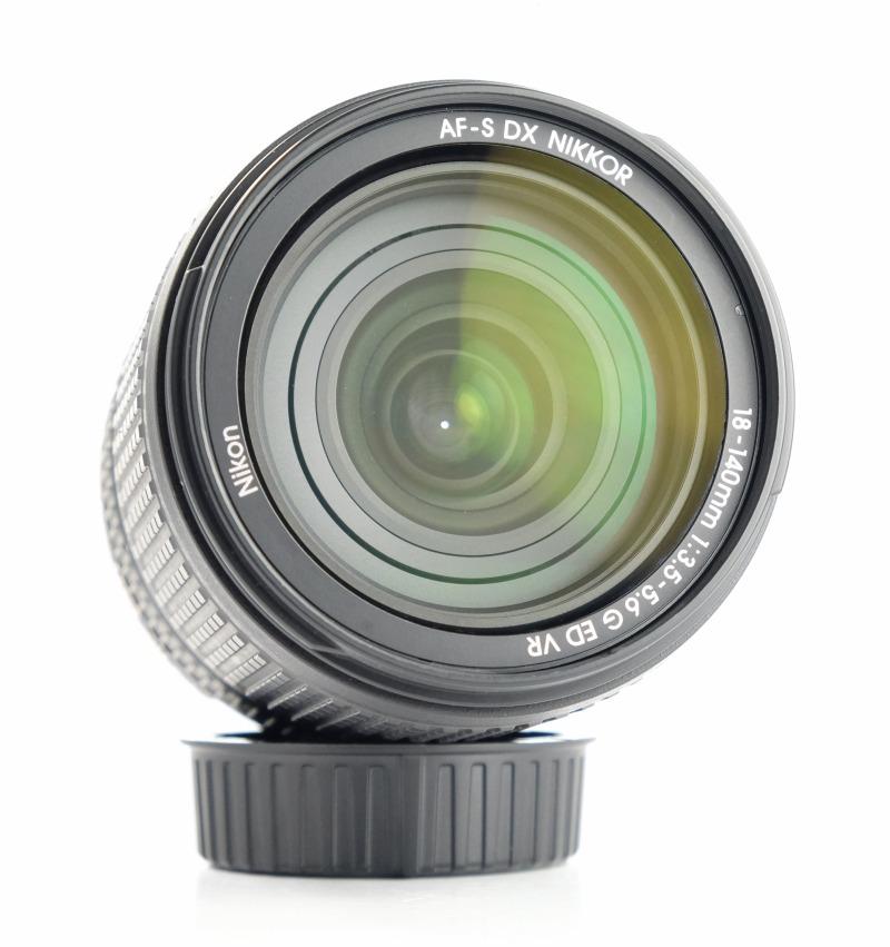 NIKON 18-140 mm f/3,5 5,6G ED VR záruka 2/2021