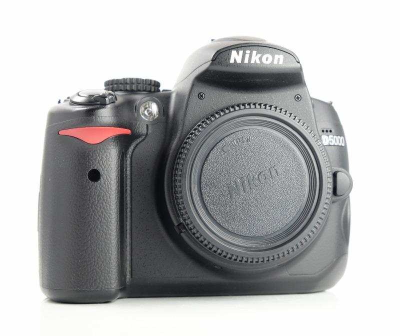 Nikon D5000 TOP