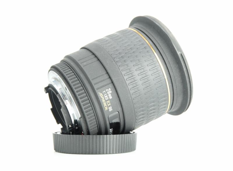 Sigma 20mm f/1,8 EX DG ASPHERICAL pro Nikon