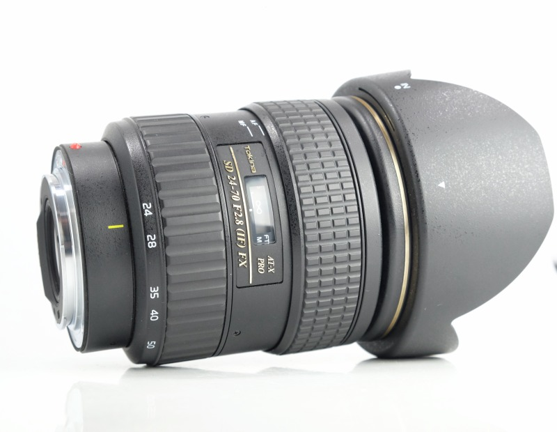 TOKINA 24-70 mm f/2,8 AT-X SD PRO IF FX pro Canon