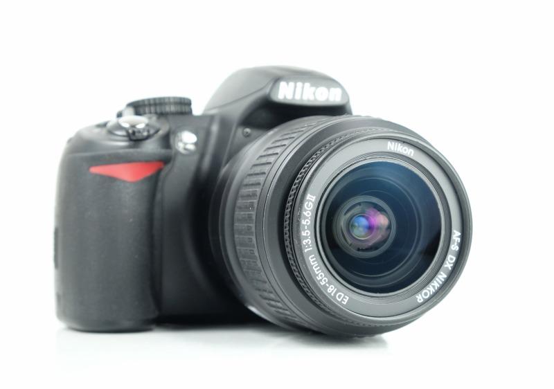 Nikon D3100 + Nikon 18-55mm AFS VR TOP STAV