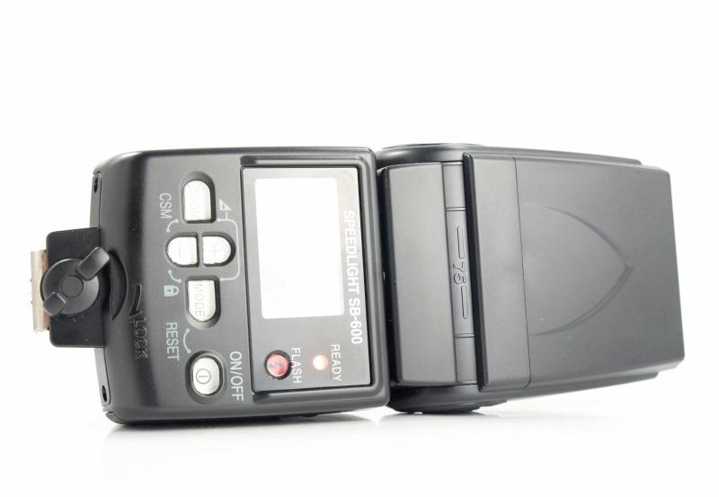 blesk Nikon SB-600 SUPER  STAV