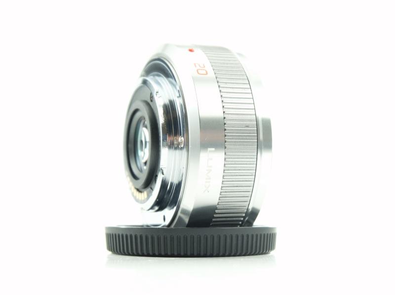 PANASONIC 20 mm f/1,7 černý ASPH LUMIX G II