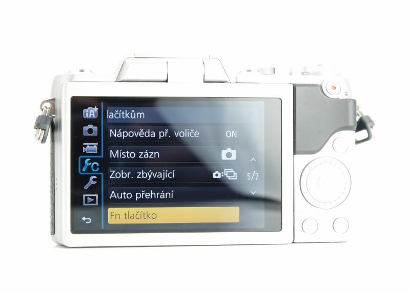 Panasonic Lumix DMC-GF7 + 12-32 mm TOP STAV