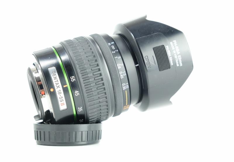 Pentax DA Zoom 18-55mm F 3,5-5,6 AL II