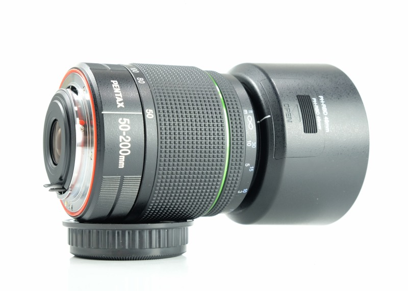 PENTAX 50-200 mm f/4-5,6 DA ED WR TOP
