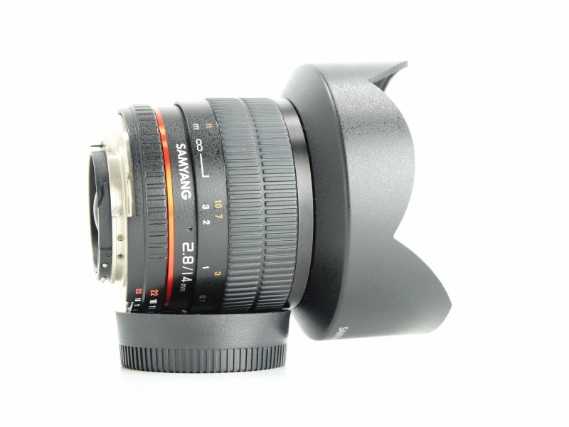 SAMYANG 14 mm f/2,8 ED AS IF UMC pro Nikon TOP STAV