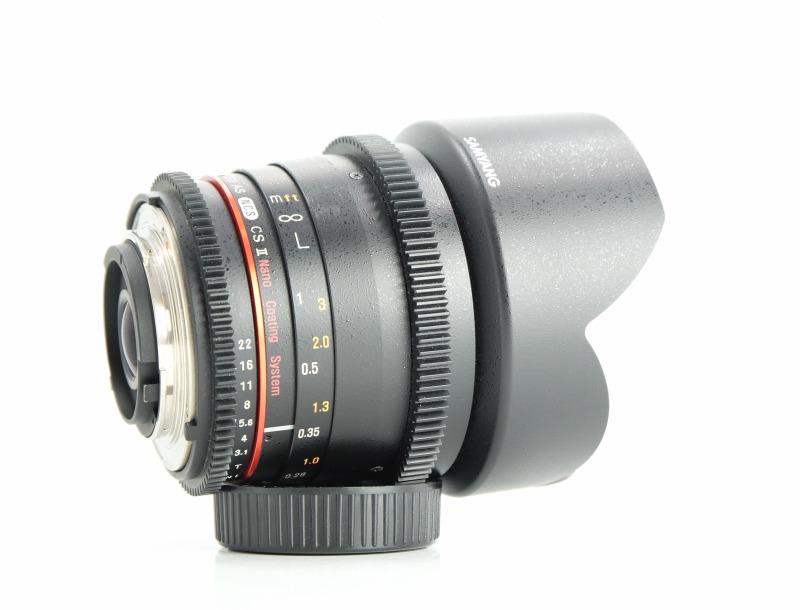 SAMYANG 10 mm T3,1 VDSLR ED AS NCS CS II pro Nikon