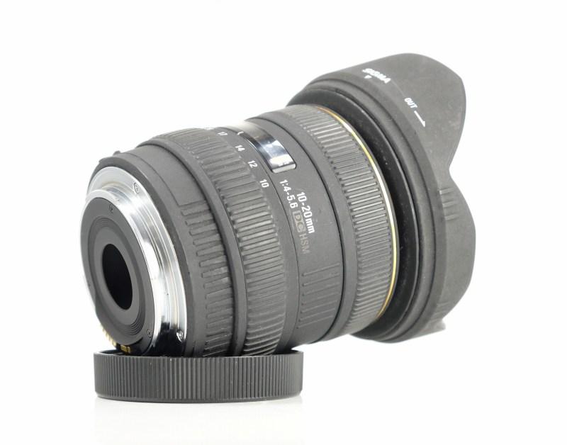 Sigma 10-20/4-5.6 EX DC HSM pro Canon