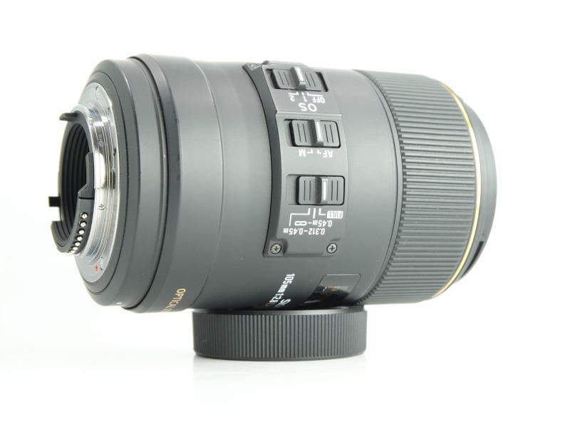SIGMA 105 mm f/2,8 EX DG OS HSM Macro pro Nikon