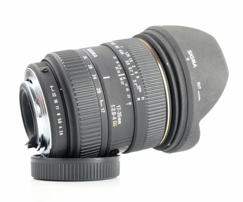 Sigma 17-35 mm F 2,8-4,0 EX DG pro Pentax