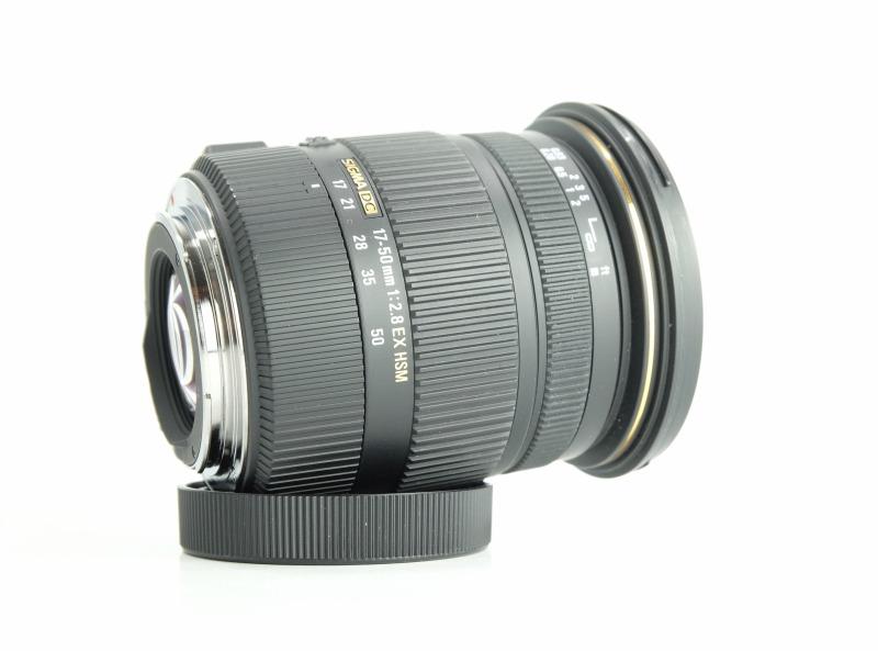 Sigma 17-50 mm f/2,8 EX DC OS HSM pro Canon