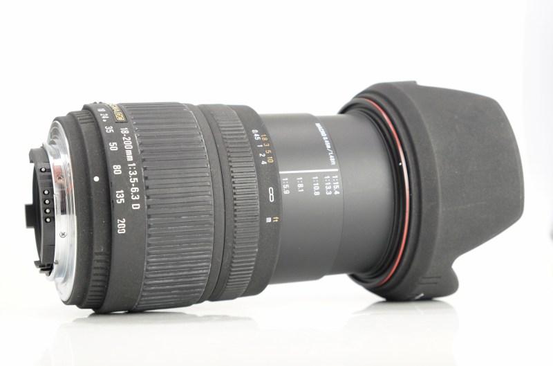 Sigma 18-200 f/3,5-6,3 DC pro NIKON