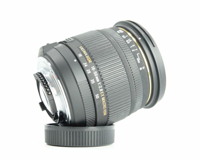 Sigma 18-50 mm F 2,8 EX DC Macro HSM pro Nikon