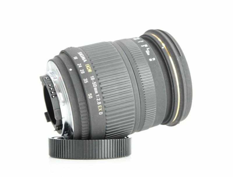 Sigma 18-50 mm F 2,8 EX DC  pro Nikon