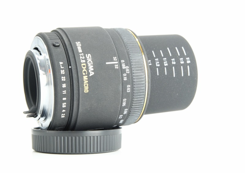 Sigma 50mm f/2.8 EX D MACRO pro Pentax SUPER STAV