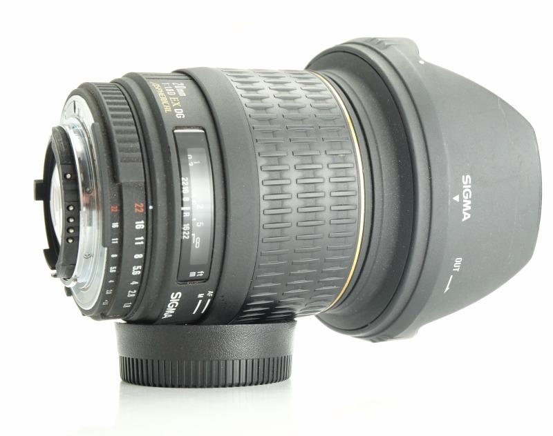 SIGMA 20 mm f/1,8 EX DG ASP  pro Nikon