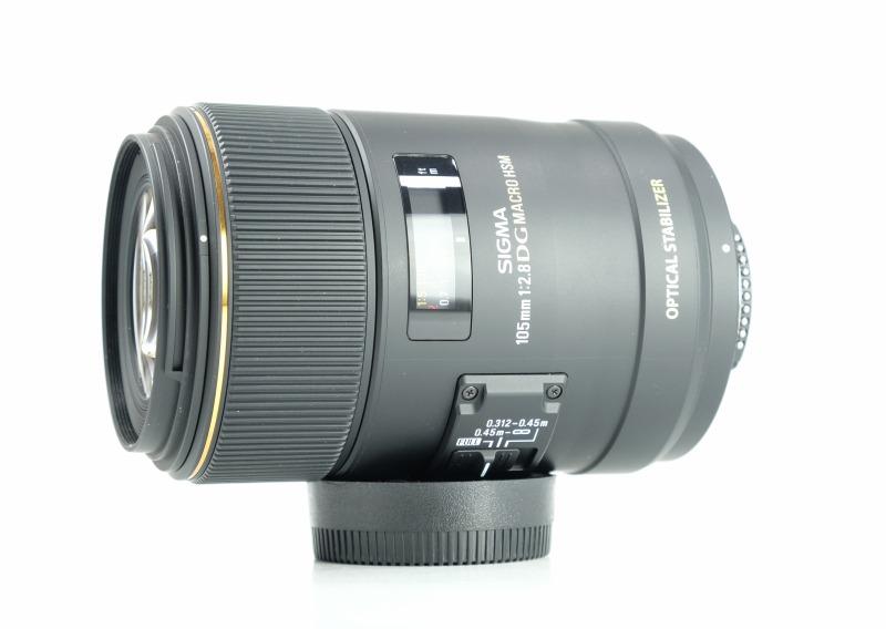 SIGMA 105 mm f/2,8 EX DG OS HSM Macro pro Nikon TOP STAV