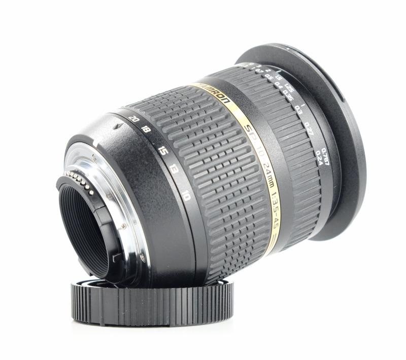 TAMRON 10-24 mm f/3,5-4,5 Di II SP LD Asph. pro Nikon