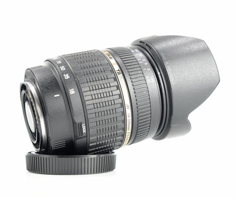TAMRON 18-200 mm f/3,5-6,3 Di II pro SONY
