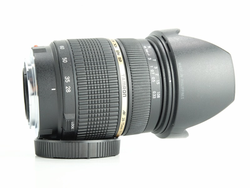 TAMRON 28-75 mm f/2,8 SP XR Di Asph. pro  Sony TOP
