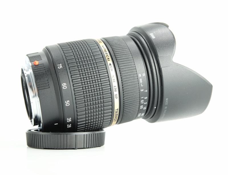 TAMRON 28-75 mm f/2,8 SP XR Di Asph. pro  Sony TOP