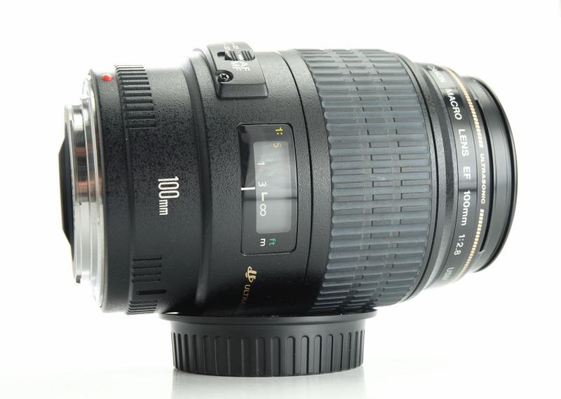 CANON EF 100 mm f/2,8 MACRO USM TOP STAV