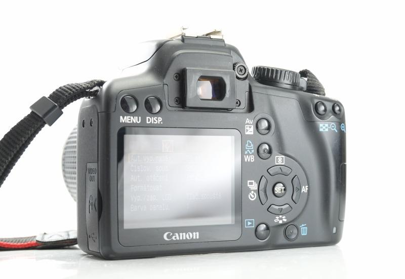 Canon 1000D + Canon 28-90mm TOP